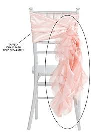 curly willow chair sash 50 pk curly willow chair sash material taffeta