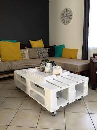Coffee Table Out Of Pallets by Rustic Pallet Coffee Table Led Lights 101 Pallets Pellet
