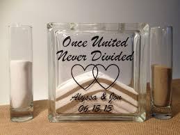 Sand For Wedding Unity Vase Unity Sand Ceremony Shadow Box With Side Vases U2014 Liviroom Decors