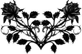 black rose tattoo design cool tattoos bonbaden