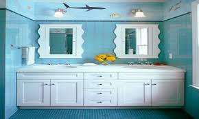 beach themed kids bathroom