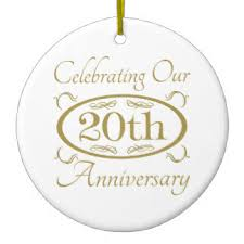 20th wedding anniversary 20th wedding anniversary christmas decorations christmas décor