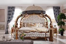 Royal Bedroom Set by Italian French Rococo Luxury Bedroom Furniture Dubai Luxury