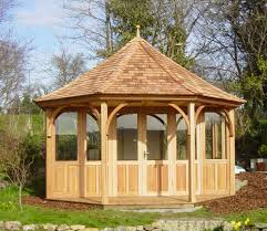 8 Sided Wooden Gazebo by 4 2 Metre Eight Sided Summerhouse Stan Fairbrother Garden Structures