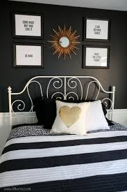 Black And White Bedroom Decor Impressive Design Gold And Black