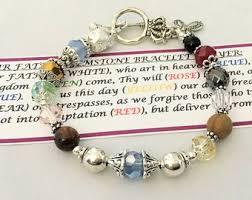 prayer bracelet images Prayer bracelet etsy jpg