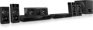 Buy Philips Htb5520 94 5 1 3d Blu Ray Home Theatre Black Online At - 5 1 3d blu ray home theater htb5520 98 philips