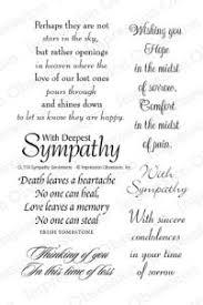 clear st set sympathy sentiments card ideas 2