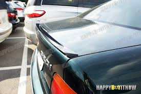 diamond lip 96 03 painted bmw e39 trunk lip spoiler also fits