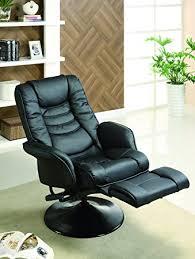 swivel recliner amazon com coaster home furnishings 600229 recliners casual