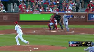 dodgers beat cardinals take lead in nl west mlb com