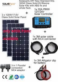 Diy Solar Light by Aliexpress Com Buy Solarparts 3x100w Monocrystalline Solar