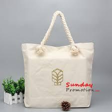 bags in bulk cheap promotional canvas tote bags bulk rope handle 46 40cm