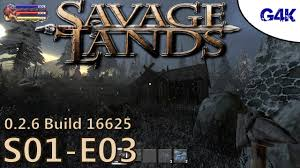 building my own house savage lands gameplay s01e03 youtube