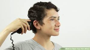 center part mens hairstly how to style your hair male with pictures wikihow