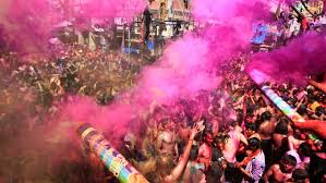 how do you celebrate holi in the middle of a drought