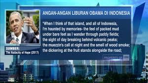 obama mudik ke indonesia ingin denger adzan u0026 gamelan youtube