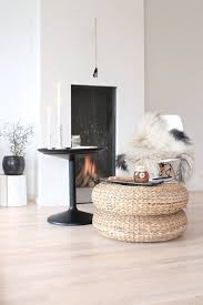 ikea pouf versatile style spotting ikea s woven pouf alseda everywhere