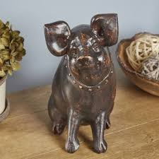 pig kitchen canisters kitchen pig decor wayfair