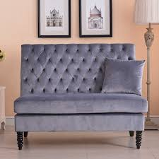 Bedroom Sofa Bench 20 Ways To High Back Loveseat