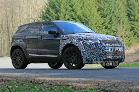 land rover evoque blue spied u2013 upsized range rover evoque testing in europe