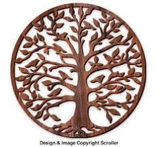 tree of ornament woodcut tree of decoration 698 5