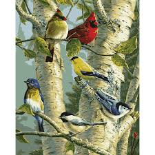 plaid paint by number song bird favorites 22078 plaid online