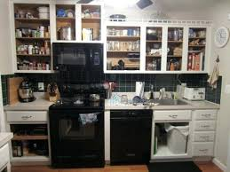 No Door Kitchen Cabinets Kitchen Cabinets With No Doors Pilotproject Org Inside Without