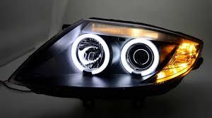 eye bmw headlights sw ccfl eye headlights bmw z4 e85 e86 black sw tuning