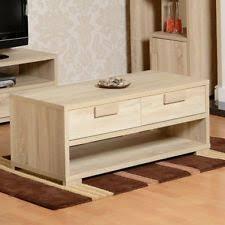 Light Oak Coffee Tables by Light Oak Coffee Table Ebay