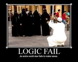 Burka Meme - logic fail by 1389ad on deviantart