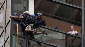 Trump Tower Nyc by Man Climbing Trump Tower With Suction Cups Captured By Nypd 6abc Com