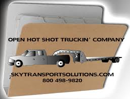 open trucking company