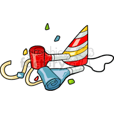 noise makers royalty free birthday party noise makers 142584 vector clip