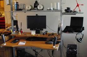 living room stunning splendid custom made computer desks