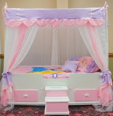 Girls Bed Curtain Accessories 20 Mesmerizing Images Diy Girls Bed Canopy Netting