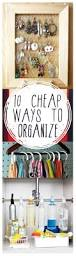 10 cheap ways to organize