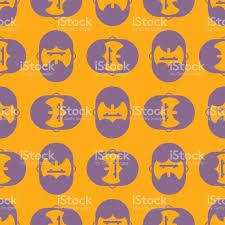 barber shop pattern bearded ornament hipper ornament beard