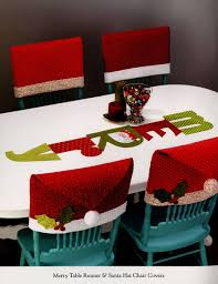 santa hat chair covers table part two rocking chair quilts