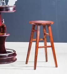 oak wood bar stools buy harrington solid wood bar stool in honey oak finish by