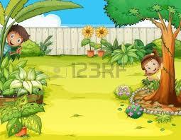 Backyard Cartoon Backyard Clipart