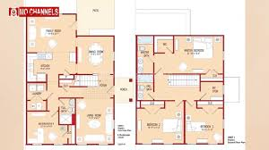 apartments home design 4 bedroom bedroom modern house with plan