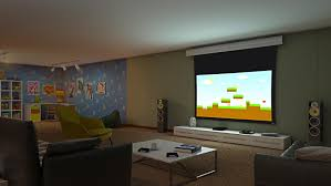 motorized home theater screen value motorized home projector screen 3 series