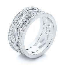 custom wedding rings custom organic diamond wedding ring 102164