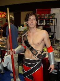 Skimpy Male Halloween Costumes Clever Bulky Cosplayers Draw Ire Convention Goers
