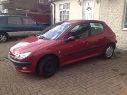 2002 51 reg peugeot 206 1 6 glx automatic met red mot in