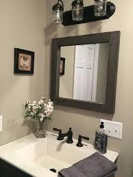 Reclaimed Wood Bathroom Mirror Reclaimed Wood Bathroom Mirror Reclaimed Wood Mirror Rustic Lodge