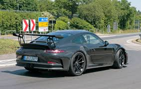 new porsche 911 porsche 911 gt3 rs facelift for 2018 more power more pedals by