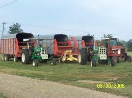 olivers harvesting pics yesterday u0027s tractors