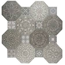 floor and decor ceramic tile merola tile imagine decor 17 3 4 in x 17 3 4 in ceramic floor